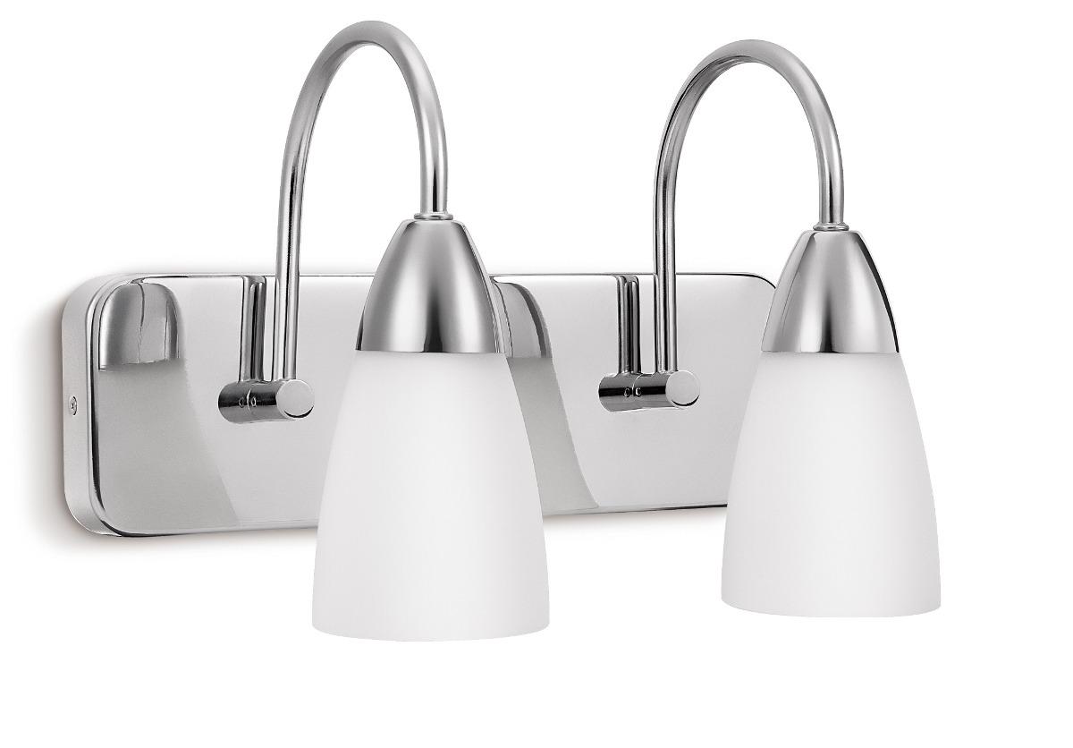 Aplique Philips Tino 2 Luces Apto Para Baño - $ 1.370,00 en Mercado ...