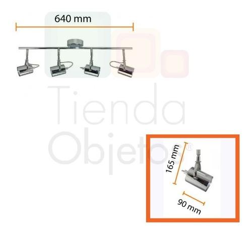aplique platil movil articulado cupido 4 luces led 220v