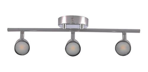aplique riel lampara led zoe 3 luces 220v aplique decoración