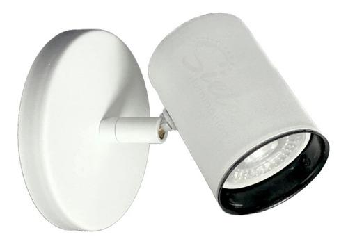 aplique spot móvil led 1 luz de pared / techo minimalista