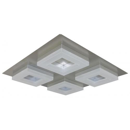 aplique techo pared platil norly 4 luces led cob 20w