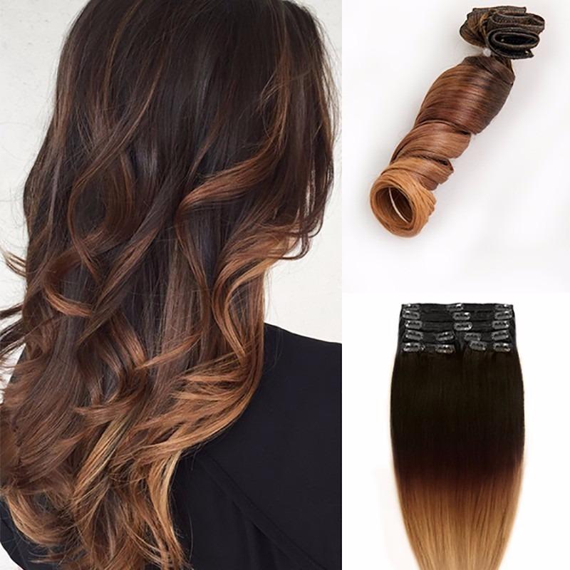 Ombre Hair Platinado Em Cabelo Preto