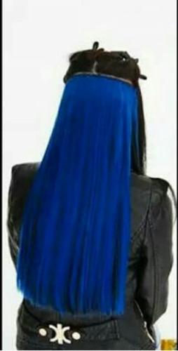 aplique tic tac azul liso / 60 cm / 120 gramas.