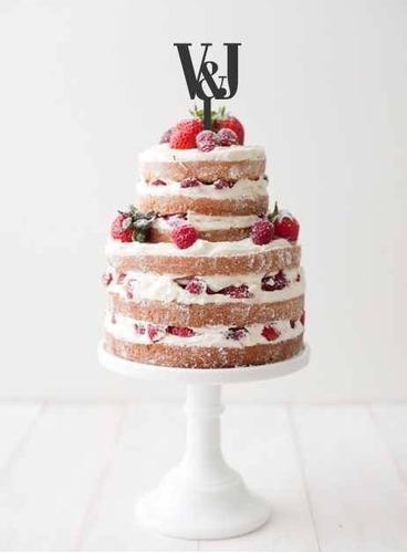 aplique torta decoracion evento madera 40cm frase amor love