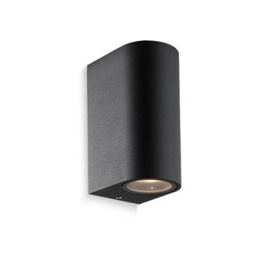 aplique unifocal redondo ext/int aluminio  para dicro led