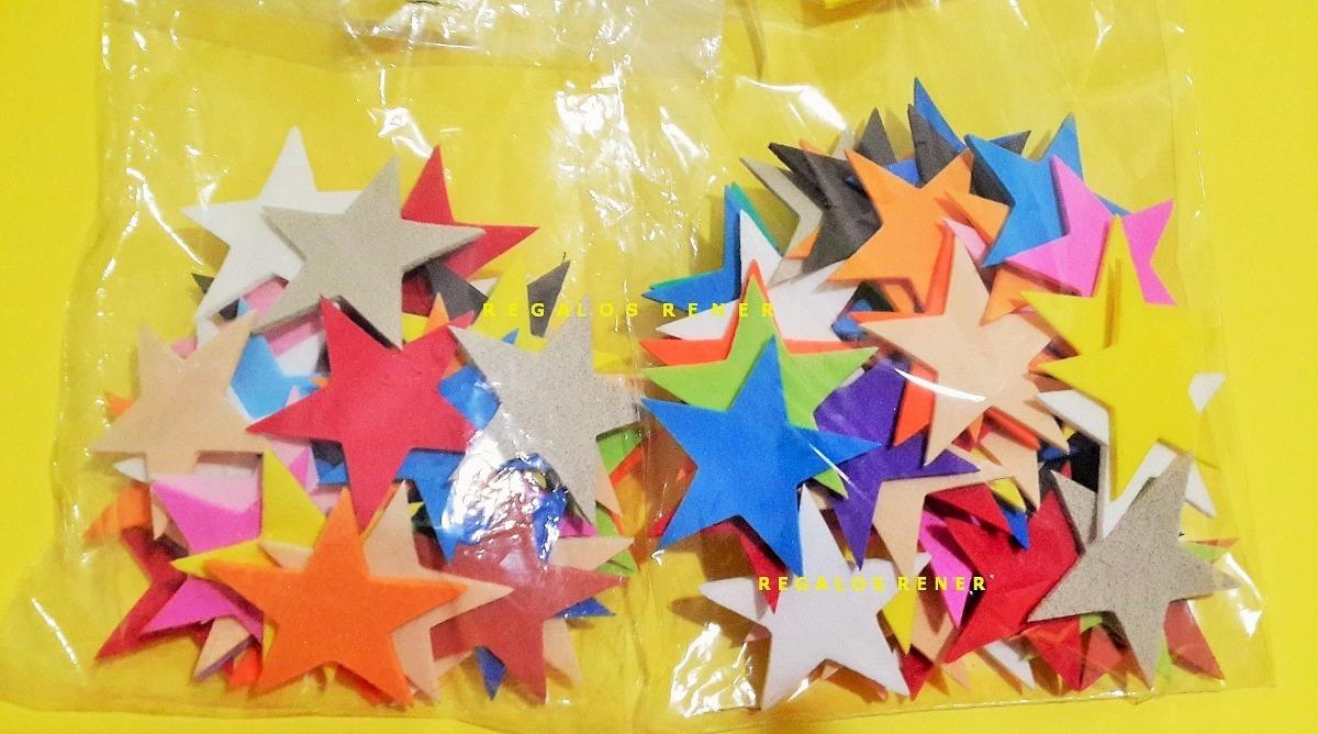 f092e16e3ae Apliques formas figuras estrellas goma eva pack u de jpg 1200x668 Formas de  estrellas
