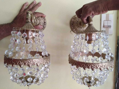 apliques lámparas (antigüedades)