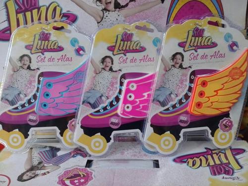 apliques set de alas para patines zapatillas soy luna urquiz
