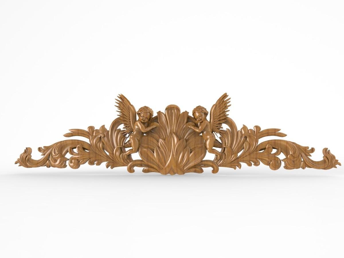 Apliques tallados en madera para muebles y puertas u s 1 for Muebles tallados en madera