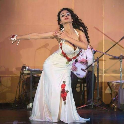 apliques tejido crochet para manos pies pelo danza arabe