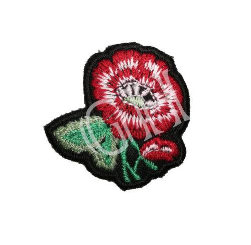 apliques/parches termoadhesivos  surtidos (flores)x25 unidad