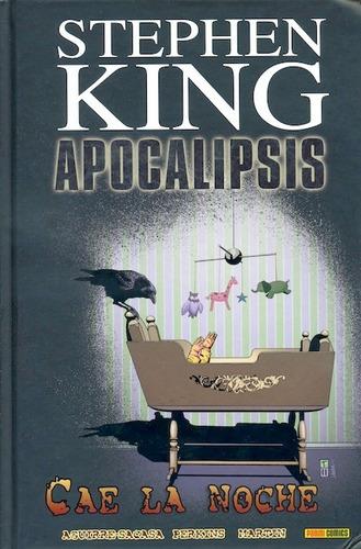 apocalipsis stephen king 6: cae la noche ilustrado cartone