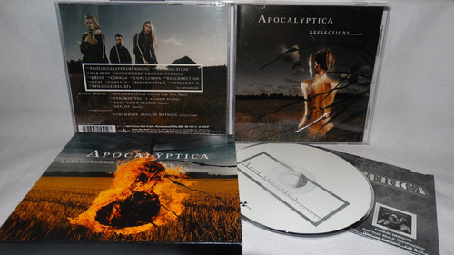 apocalyptica - reflectons (slipcase)