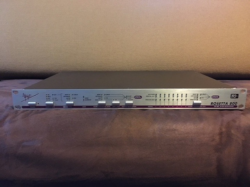 apogee rosetta 800 24bits 192khz convertidor ad/da