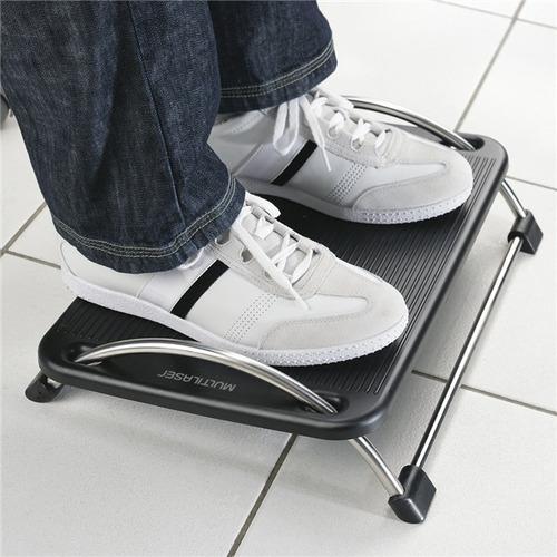 apoiador de pé multilaser descanso para pés