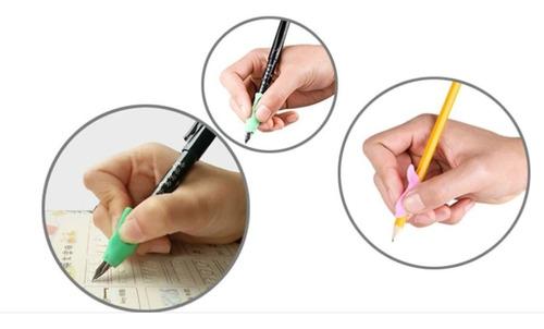 apoio de escrita corretor de silicone  ergônomico 4 modelos