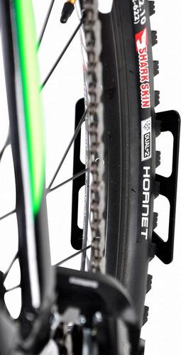 apoio de parede para pneu traseiro bicicleta altmayer al-197