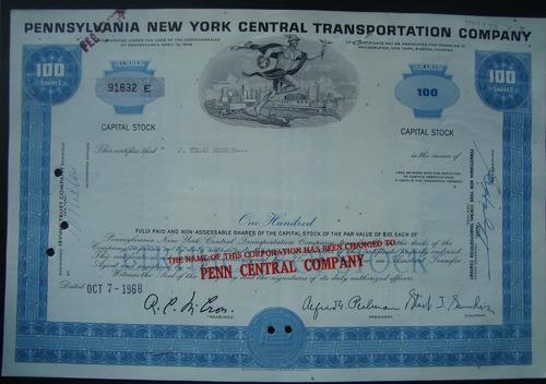 apolice 91632 the pennsylvania new york  transportation,1968