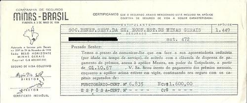 apólice companhia de seguros minas-brasil