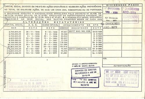 apólice companhia telefônica brasileira marron