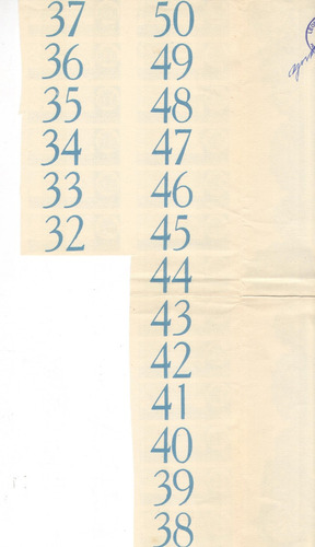 apólice - prefeitura do distrito federal ano 1954 plano a