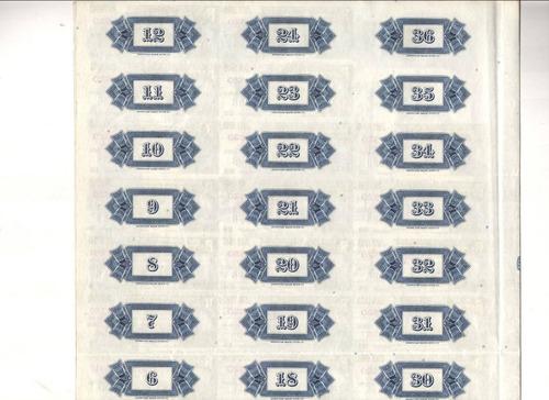 apolice república of china - usd. 1.000 dólares 1937 liberty