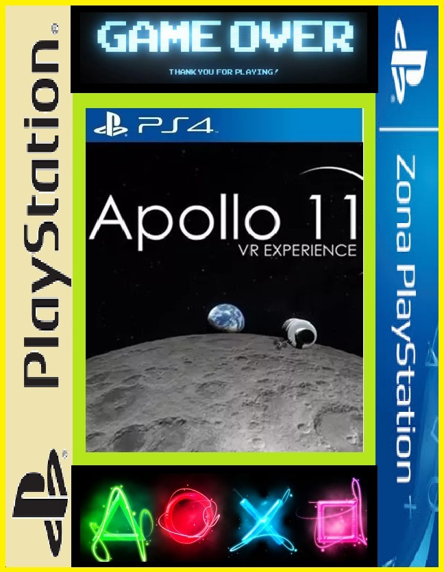 Apollo 11 Vr Juego Ps4 Ps4 Game Over 249 99 En Mercado Libre