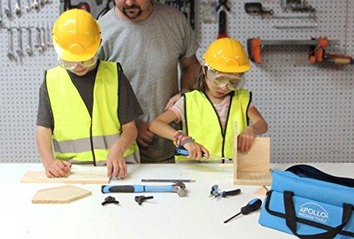apollo tools dt4936 14 piezas childrens first tool kit con h