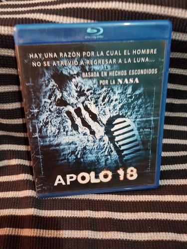 apolo 18 - blu ray original seminuevo
