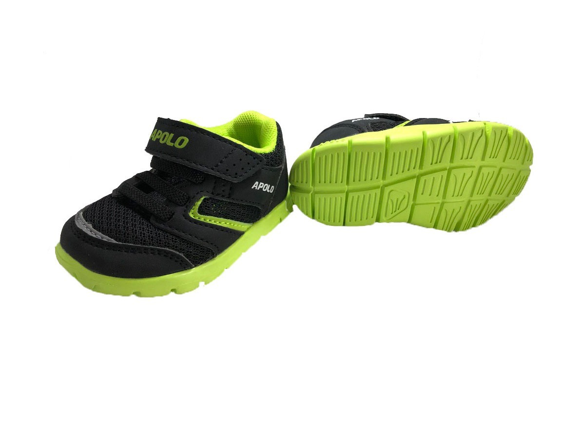 0af8f9b3 Zapatos Apolo Kids Para Bebe Niño Niña Negros - Bs. 44.000,00 en ...