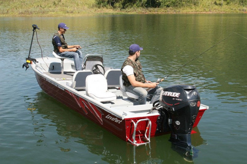 apolus 550 fish tracker com motor de popa 40 hp yamaha 2 t