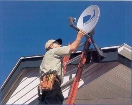 apontamento de  antena