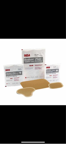 aposito hidrocoloide restore 15x20 extra delgado c/3 9923
