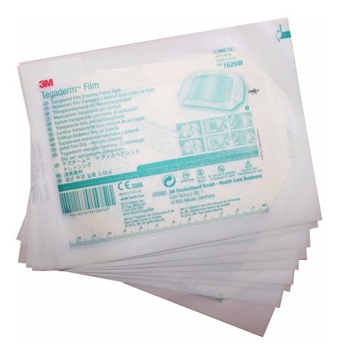 aposito transparente tegaderm film impermeable 3m 10 x 12 cm