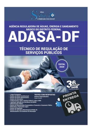 apostila adasa-df técnico de regulação de serviços públicos