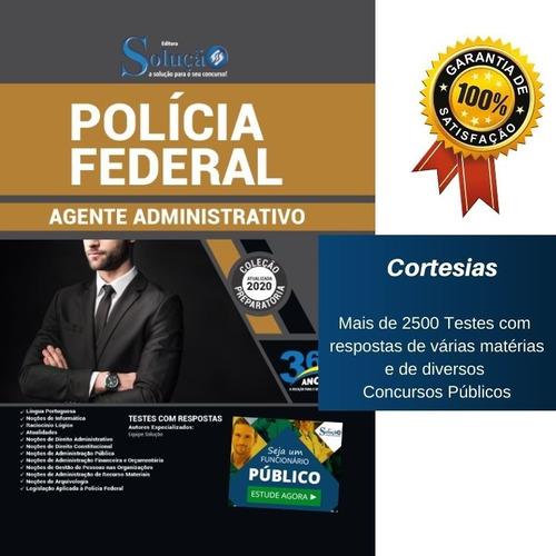 apostila agente administrativo da polícia federal - pf
