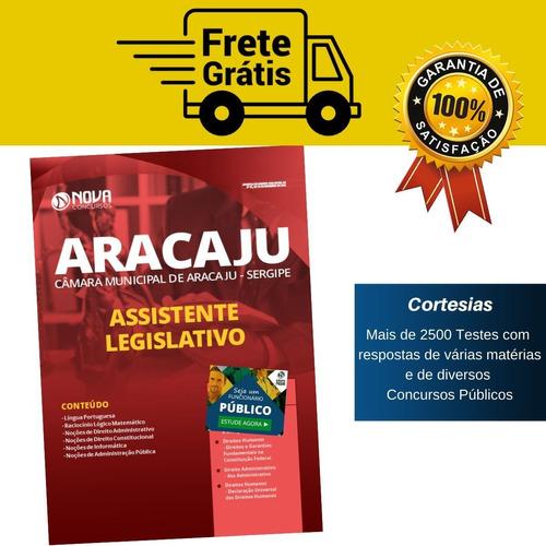 apostila assistente legislativo câmara aracaju sergipe