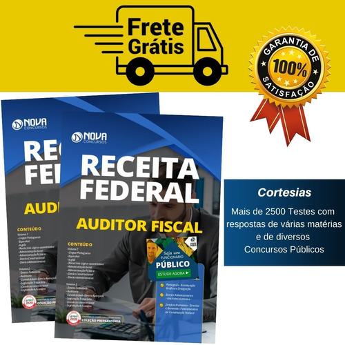 apostila auditor fiscal da receita federal do brasil - afrfb