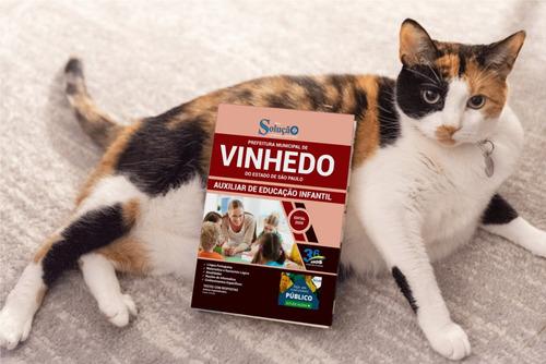 apostila auxiliar de educação infantil concurso vinhedo sp