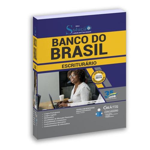 apostila banco do brasil 2019  escriturário