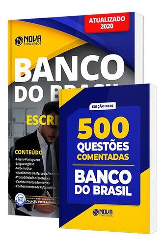 apostila banco do brasil escriturário caderno questões 2020