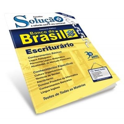 Apostila Banco Do Brasil Escriturario Gratis Pdf