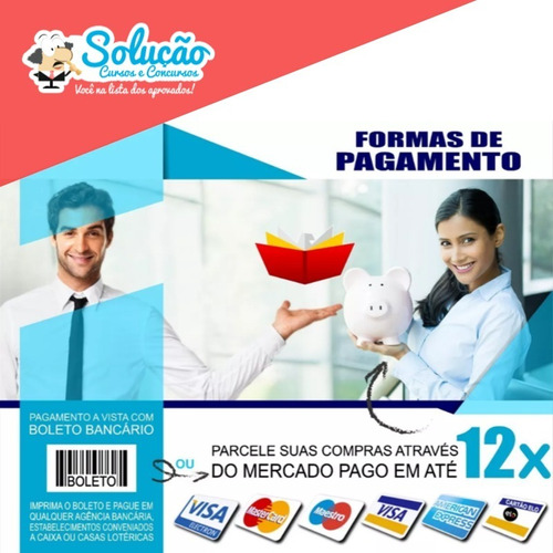 apostila banco do brasil - escriturário - super completa