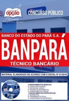 bc669852e Apostila Banpara 2018 - Técnico Bancário - R$ 73,48 em Mercado Livre