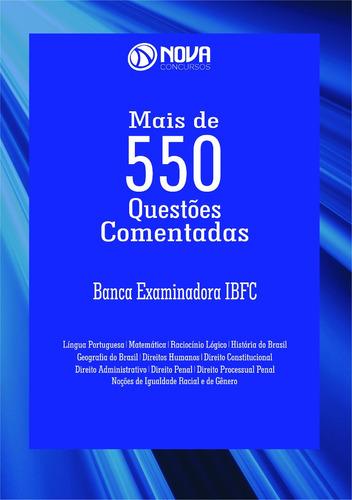apostila caderno de testes - banca examinadora ibfc