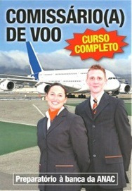 apostila comissário de voo - curso completo - aeroclubesp