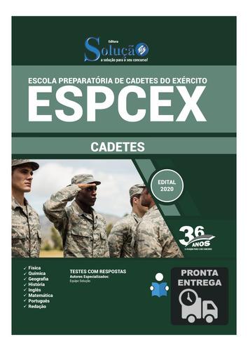 apostila concurso espcex cadetes do exército  livro