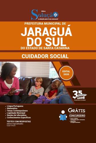 apostila concurso jaraguá do sul sc 2020 cuidador social
