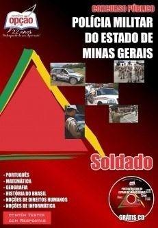 apostila concurso policia militar mg saldado