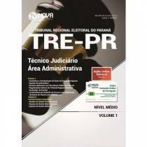 apostila concurso tre-pr 2017 -técnico judiciário -área adm